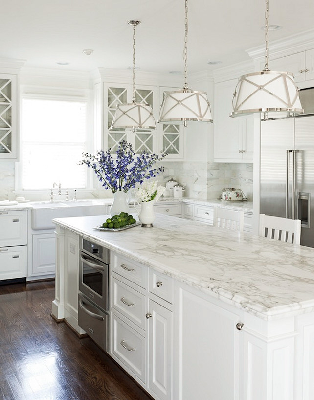 Benjamin Moore Mountain Peak White Kitchen Cabinets
